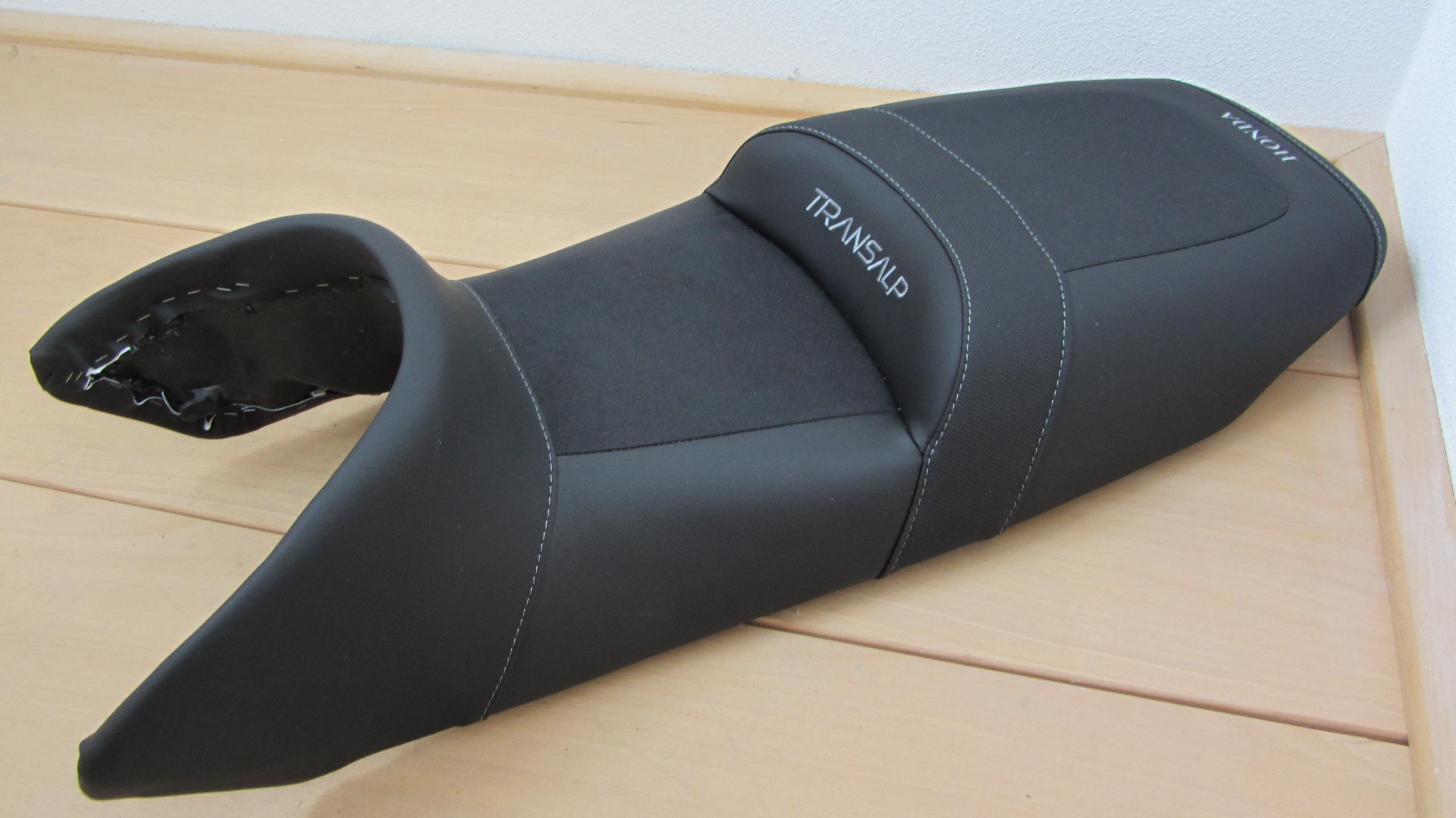 Comfort seat honda transalp