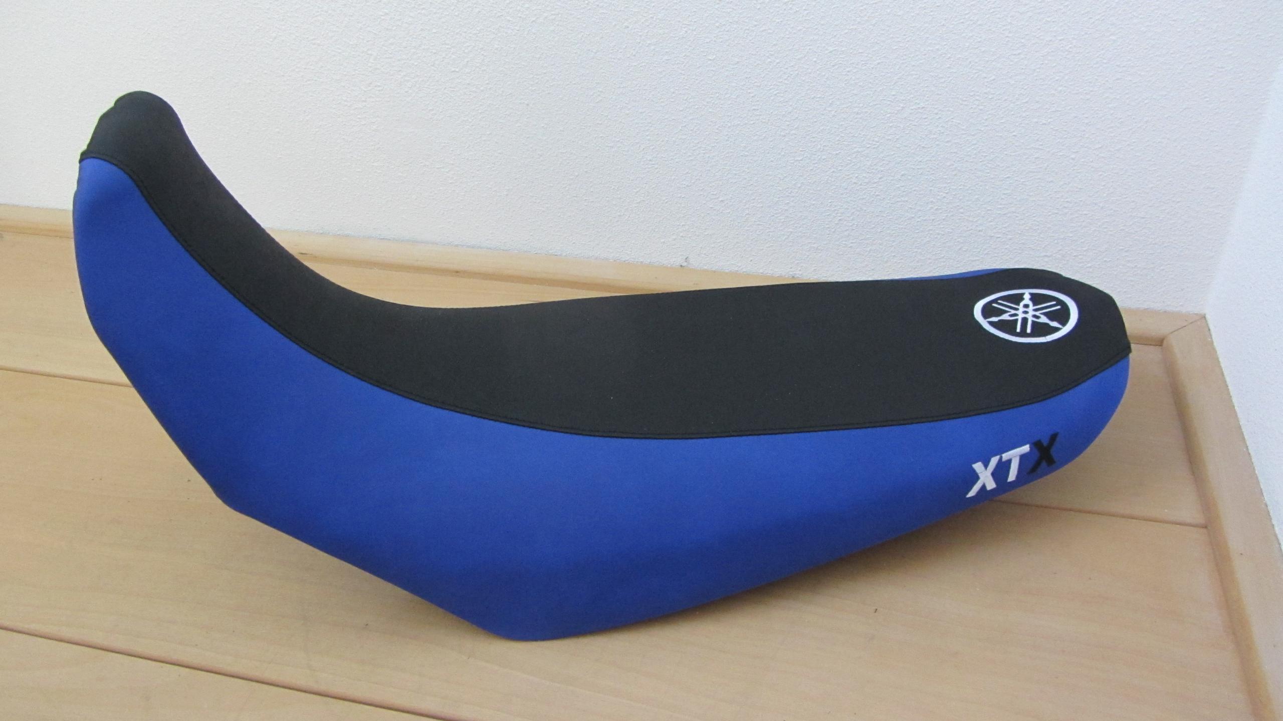 seat Yamaha XTX opnieuw bekleed